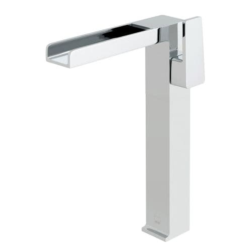 Vado Synergie Progressive Extended Mono Basin Mixer With Waterfall Spout