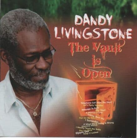 Dandy Livingstone - The Vault Is Open (Par 3 Music) LP