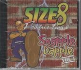 SALE ITEM - Various - Size 8 Edit Productions Presents Snapple Dapple Vol. 1 (Platinum) CD