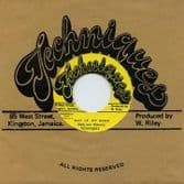 """Techniques - Man Of My Word / Time Has Come (Techniques / Dub Store Records) JPN 7"""""""