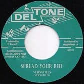 Versatiles - Spread Your Bed / Val Bennett - Hound Dog Special (Deltone / Reggae Fever) EU 7""