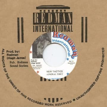 Admiral Tibet - New Tactics / version (Redman /Dub Store) JPN 7