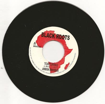African Brothers - Torturing / version (Black Roots) UK 7