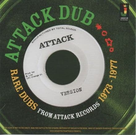 Agrovators - Attack Dub: Rare Dubs From Attack Records 1973-1977 (Jamaican Recordings) LP