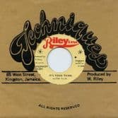 Alton Ellis - It's Your Thing / Vin Gordon - It's Your Thing (Riley Inc. / Dub Store Records) JPN 7""