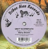 Barry Brown - Unity Is Strength / Drumie Benji - Higher Region (Tribes Man) 12""