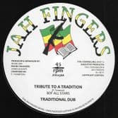 BDF All Stars - Tribute To A Tradition / Traditional Dub (Jah Fingers) 12""