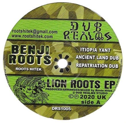Benji Roots - Itiopia Yant / Wh'Appen (Dub Realms) 12
