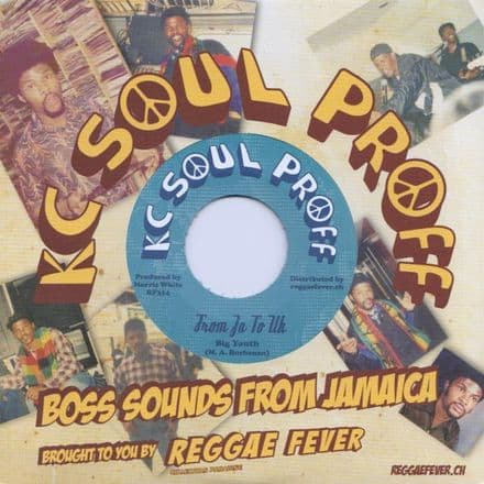 Big Youth - From JA To UK / KC White - Love Is A Gamble (KC Soul Proff / Reggae Fever) 7