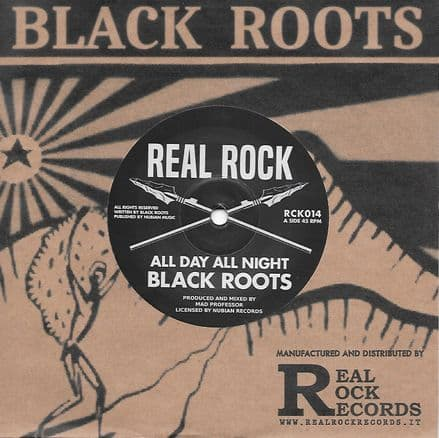 Black Roots - All Day All Night / Pressure Dub (Real Rock) 7