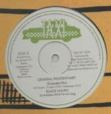 """Black Uhuru - General Penitentiary Extended Mix / Shine Eye Gal Extended Mix (Taxi) UK 12"""""""