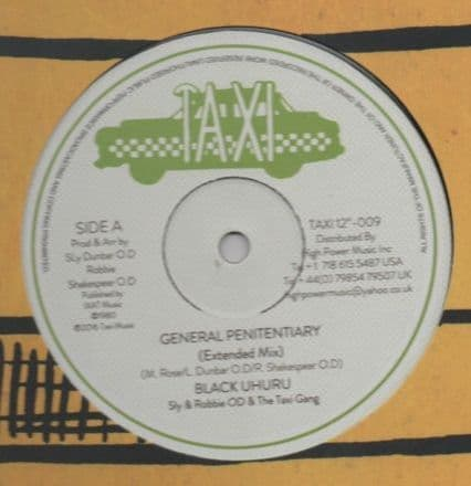 Black Uhuru - General Penitentiary Extended Mix / Shine Eye Gal Extended Mix (Taxi) UK 12