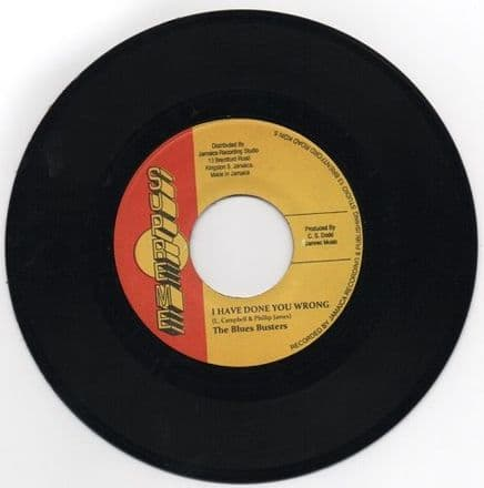 Blues Busters - I Have Done You Wrong / Owen & Leon - Down The Road (Supreme) JA 7