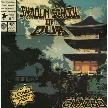 Chazbo The Dub Master - Shaolin School Of Dub (Reggae On Top / Roots Temple) LP