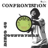 """Countryman - Confrontation / Living On Borrowed Time (Hornin' Sounds) 12"""""""