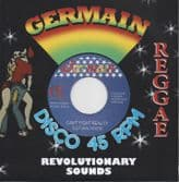 """Cultural Roots - Can't Fight Reality /  Dub Plate Version (Germain  / Gaffa Blue) UK 7"""""""