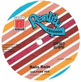 Culture Pee - Rain Rain / version (Reality Records / Jah Fingers) 12""