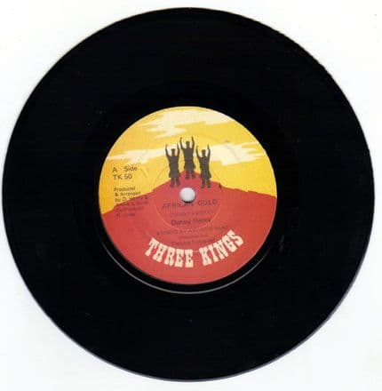 Danny Henry - African Gold / version (Three Kings) UK 7