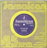 Dillinger - Jah Jah Dub / King Tubby - A Social Version (Jamaican Recordings) UK 7""