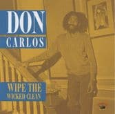 Don Carlos - Wipe The Wicked Clean (Kingston Sounds) CD