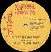 Earl Zero - City Of The Weakheart / Please Officer (Arab / Jah Fingers) 12""