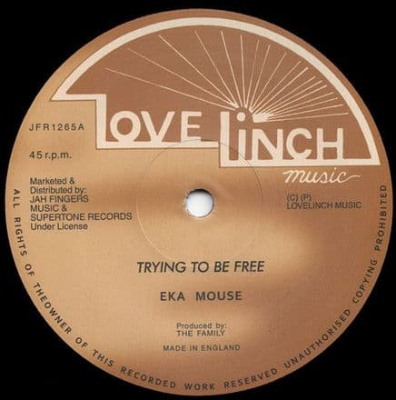 Eek A Mouse - Trying To Be Free / No Wicked (Lovelinch / Jah Fingers) 12