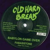 Fabasstone - Babylon Game Over (Old Hard Bread) 12""
