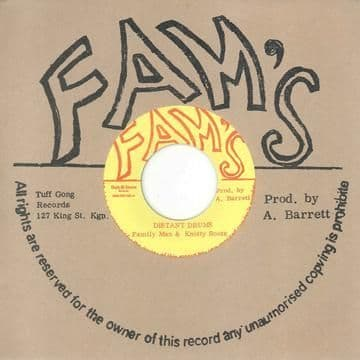 Family Man & Knotty Roots - Distant Drums / version (Fams / Dub Store) JPN 7