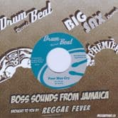 """Fire Kings - Poor Man Cry / Barry's All Stars - Version (Drum Beat / Reggae Fever) 7"""""""