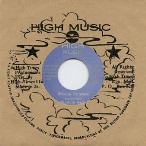 Frankie Paul - African Princess / High Times Players - African Style (High Music / Dub Store) JPN 7
