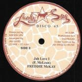 Freddie McKay - Caught You Red Handed / Jah Love I (Lucky Star / Jah Fingers) 12""