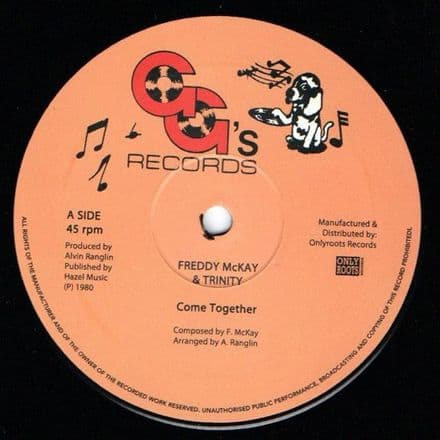 Freddy McKay & Trinity - Come Together / GG's All Stars - Sha-La Mar Rockers (GG's / Onlyroots) 12