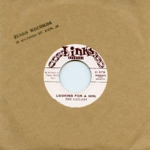 Gaylads - Looking For A Girl / Aren't You The Guy (Links Records / Dub Store) JPN 7