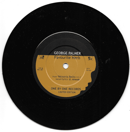 George Palmer - Favourite Herb / Baay Selectah - Instrumental (One By One Records) 7
