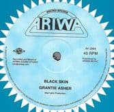 Grantie Asher - Black Skin / Mad Professor - Emancipation Dub (Ariwa) 12""