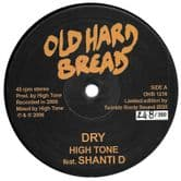 High Tone ft Shanti D - Dry / High Tone - Dub (Old Hard Bread) 12""