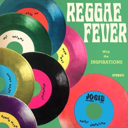 Inspirations / Various - Reggae Fever With The Inspirations (Doctor Bird) 2xCD