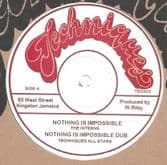 """Interns - Nothing Is Impossible / Dub (Techniques) 12"""""""