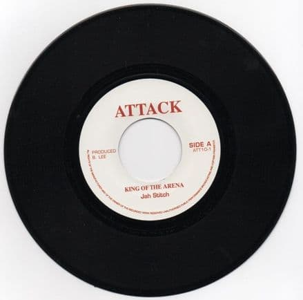 Jah Stitch - King Of The Arena / version (Attack) JA 7
