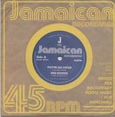 """Ken Boothe - You're No Good / Out Of Order Dub (Jamaican Recording) UK 7"""""""
