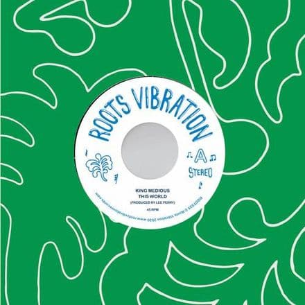 King Medious - This World / Upsetters - Midious Serenade (Roots Vibration) 7
