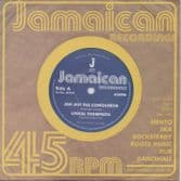 Linval Thompson - Jah Jah The Conqueror / version (Jamaican Recordings) UK 7""