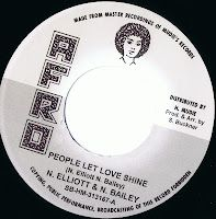 """N. Elliott & N. Bailey - People Let Love Shine (Morning Star) / The Jet Sets - Too Much (Afro) 7"""""""