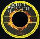 Papa Levi - Fire / version (Tuff Scout) UK 7""