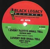 """Patrick Andy - Every Tongue Shall Tell / Mike Brooks - Vibration (Black Legacy) 10"""""""