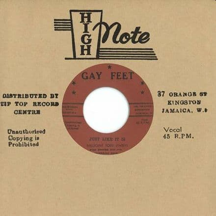 Patsy Millicent Todd - Just Like It Is / I Tell Myself (Gay Feet / Dub Store Records) 7