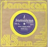 Prince Alla - Royal Throne Room / Hail Rastafari (Jamaican Recordings) UK 7""