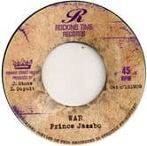 Prince Jazzbo - War / Rocking Time All Stars - Melodica Strikes Back (Rocking Time Records) EU 7""