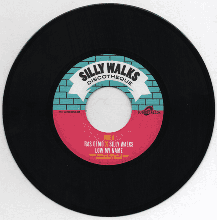 Ras Demo - Low My Name / Zion Train (Silly Walks Discotheque) 7