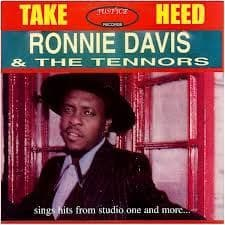 Ronnie Davis & the Tennors - Take Heed (Justice) LP